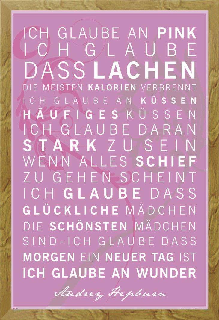 Amazon.de: Empire Motivations-Poster mit deutschem Zitat \