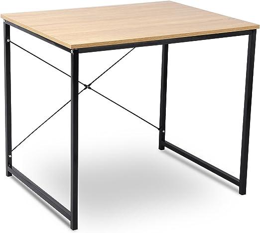 eSituro Muebles de Oficina de PC Trabajo de Madera y Acero Aprox ...