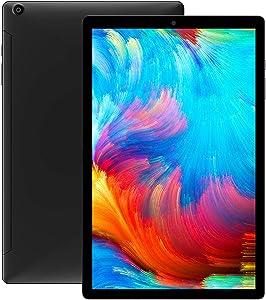 CHUWI Hipad X Android 10.0 Tablet PC, 10.1 inch Unlocked Phablet 4G LTE with Dual Micro SIM, RAM 4G / ROM 128G, Support GPS, OTG, FM, G-Sensor, Light Sensor, TF Card, BT 5.0, Dual WiFi