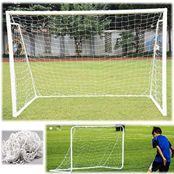 Aokur 6x4FT Outdoor Indoor Football Soccer Goal Post Net For Kids Junior  Backyard Training Practise 1PC