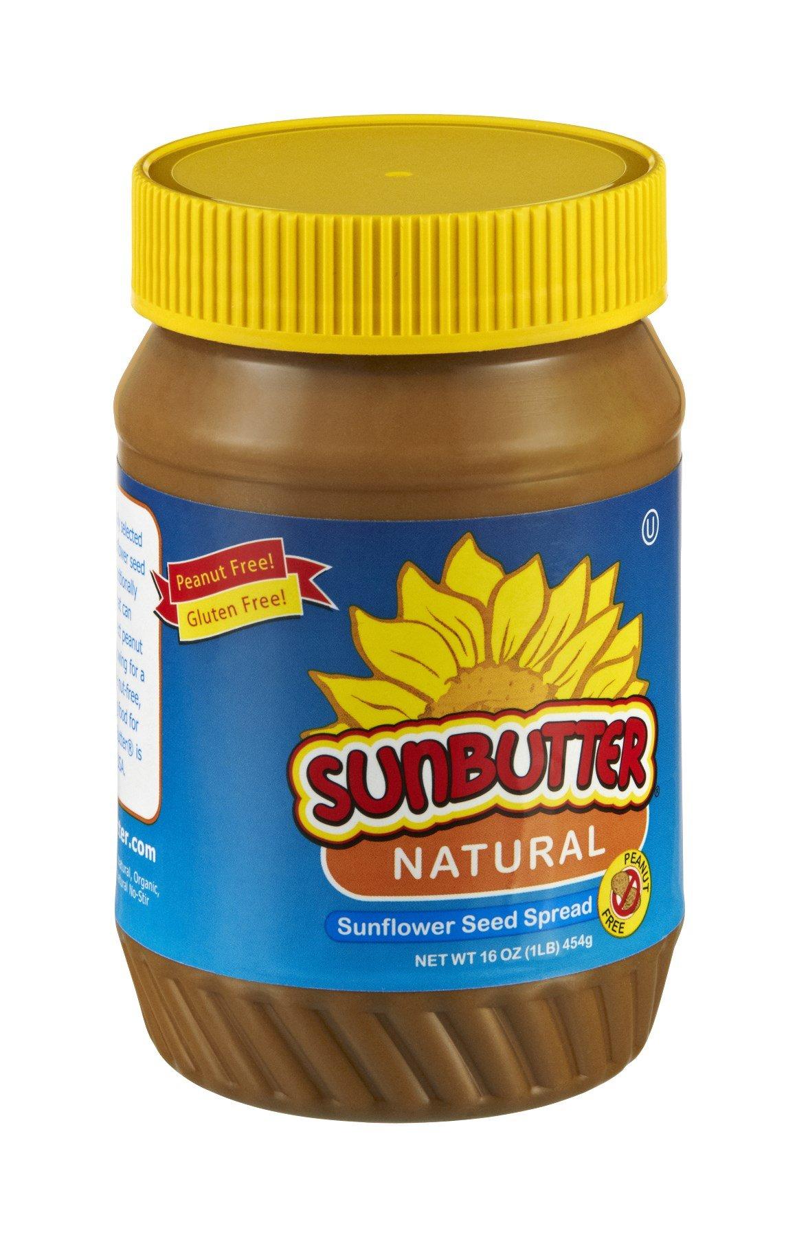 SUNBUTTER NATURAL NUT BTTR SUNFLWR NTRL, 16 OZ