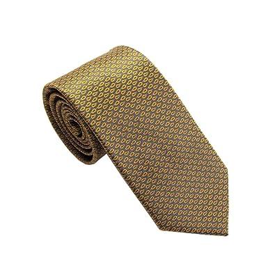 Van Buck England - Corbata - para hombre amarillo Mostaza Talla ...