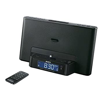 Sony ICF-DS15iPN - Radio (Reloj, Digital, AM/FM, 7W), negro: Amazon.es: Electrónica