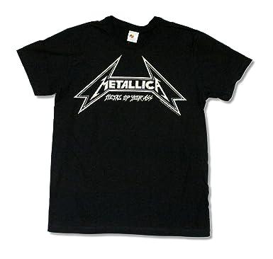 Adult Metallica Metal Up Your Ass Black Slim Fit T