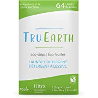 Tru Earth Hypoallergenic, Eco-friendly & Biodegradable Plastic-Free Laundry Detergent Sheets/Eco-Strips for Sensitive…