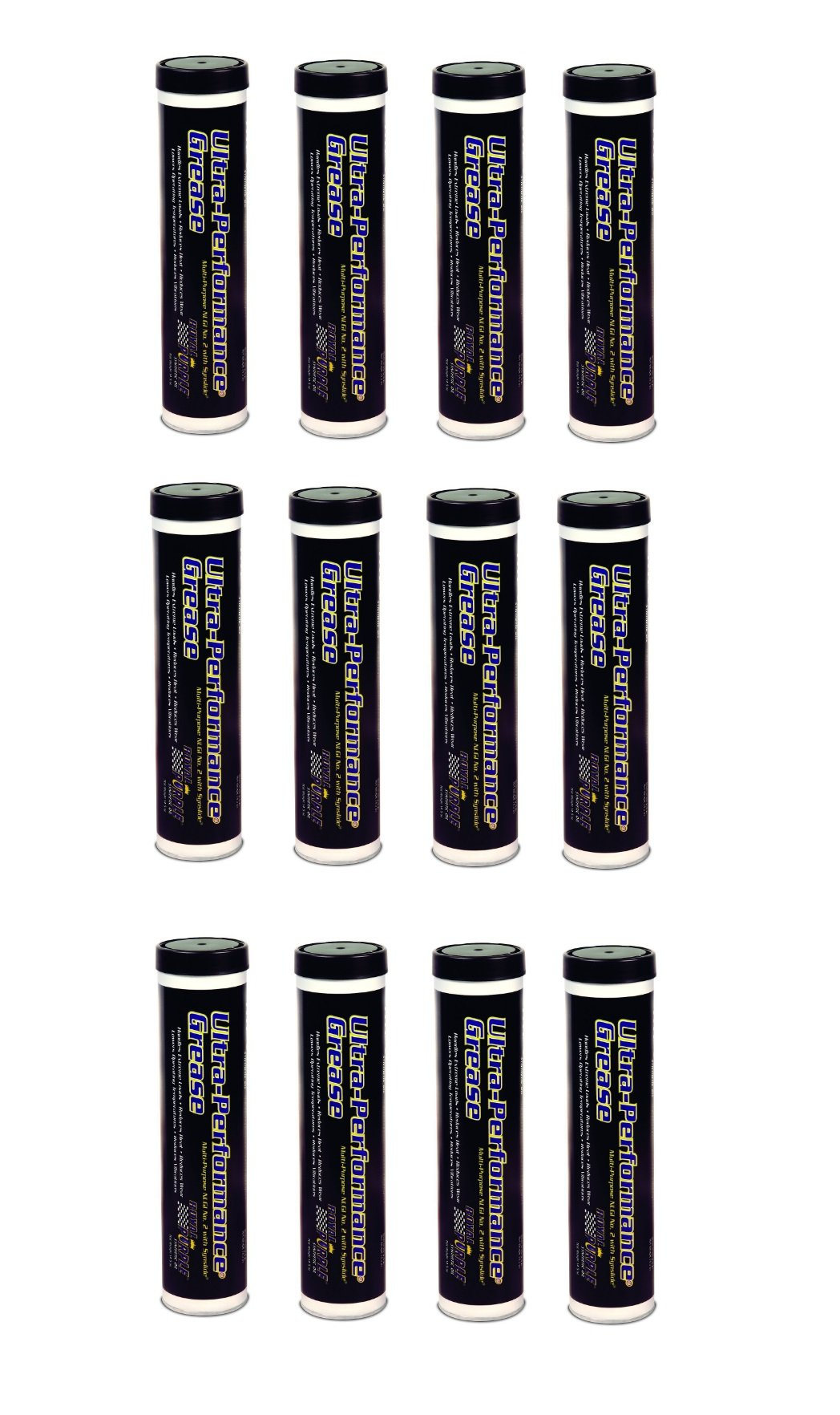 Royal Purple NLGI #2 Tube Multi-Purpose Synthetic Ultra Performance Grease - 14.1oz. (Pack of 12) by Royal Purple