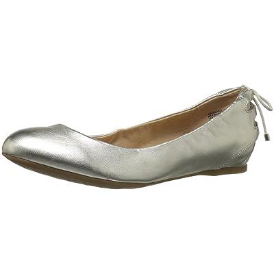 Bandolino Women's Annabella Ballet Flat, Platino, 6 M US   Flats