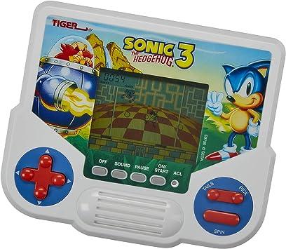 Tiger Electronics Sonic The Hedgehog 3 - Videojuego electrónico con Pantalla LCD, edición Retro-Inspired Edition, Juego de Mano para 1 Jugador, a Partir de 8 años: Amazon.es: Juguetes y juegos