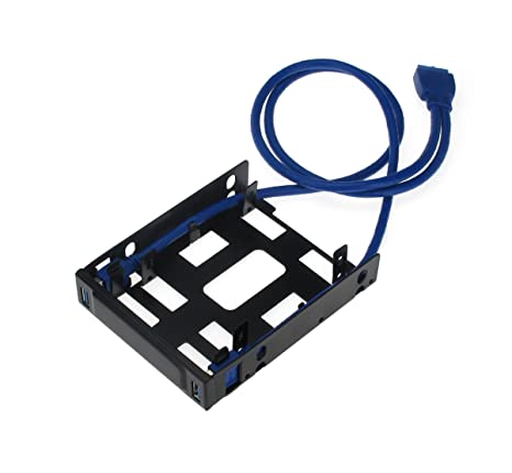 Amazon.com: SEDNA - Floppy bay Mounting Adapter for 2 x 2.5 ...