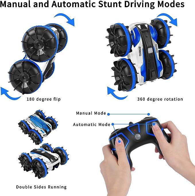 KINGBOT Auto Rc Cars die auf Wasser und Land Fahren Elektrisches ...