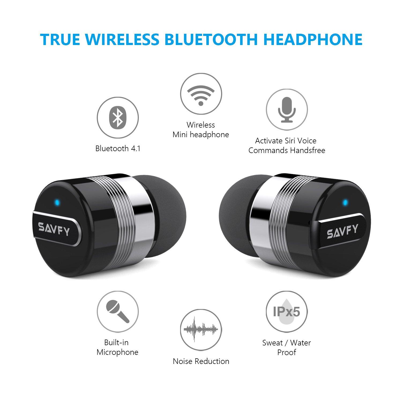 SAVFY Mini Oreillette Bluetooth sans Fil,