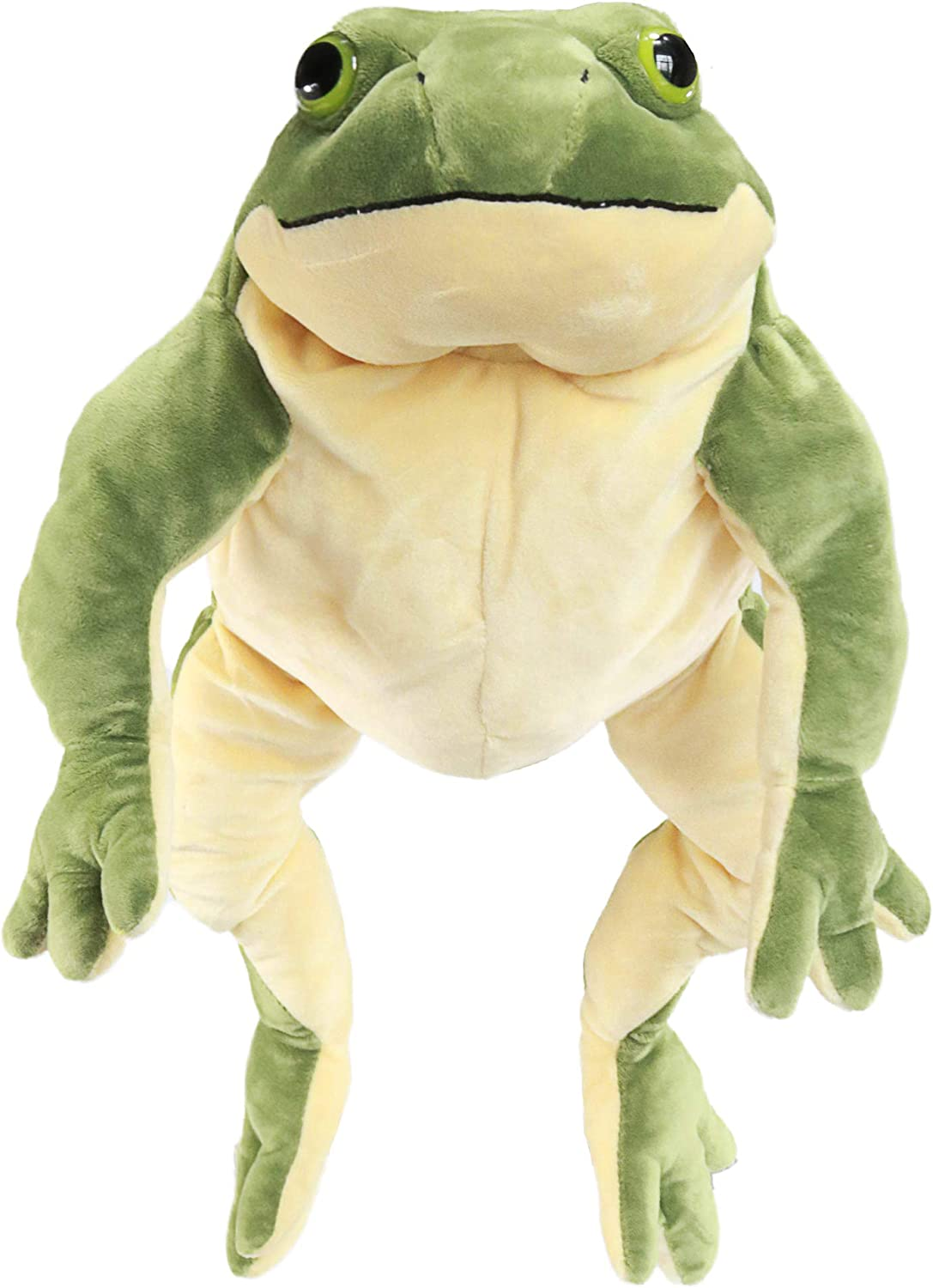 Plush Giant Frog Stuffed Animal Soft Toy, 22 Inches Large, Green