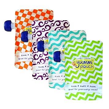 Amazon.com: Yummi bolsa reutilizable Bolsas de Alimentos ...