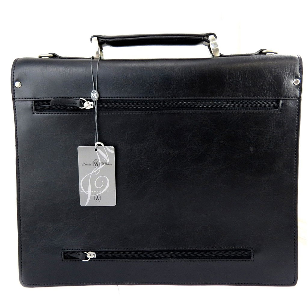 1 briefcase bellows David Williamblack.