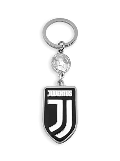 flagsandsouvenirs Juventus Soccer Fan Keychain Italy Football League