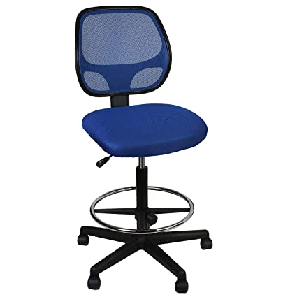 Awesome Utrahome Office Drafting Chair Footrest Swivel Adjustable Height With Ergonomic High Back Mesh Breathable Wide Seat For Office And Home 26 35 Uwap Interior Chair Design Uwaporg