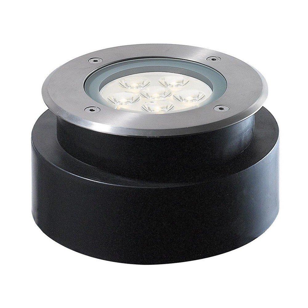 Eurofase 32191-011 Inground Outdoor Shallow Round LED 6x1W, Stainless Steel