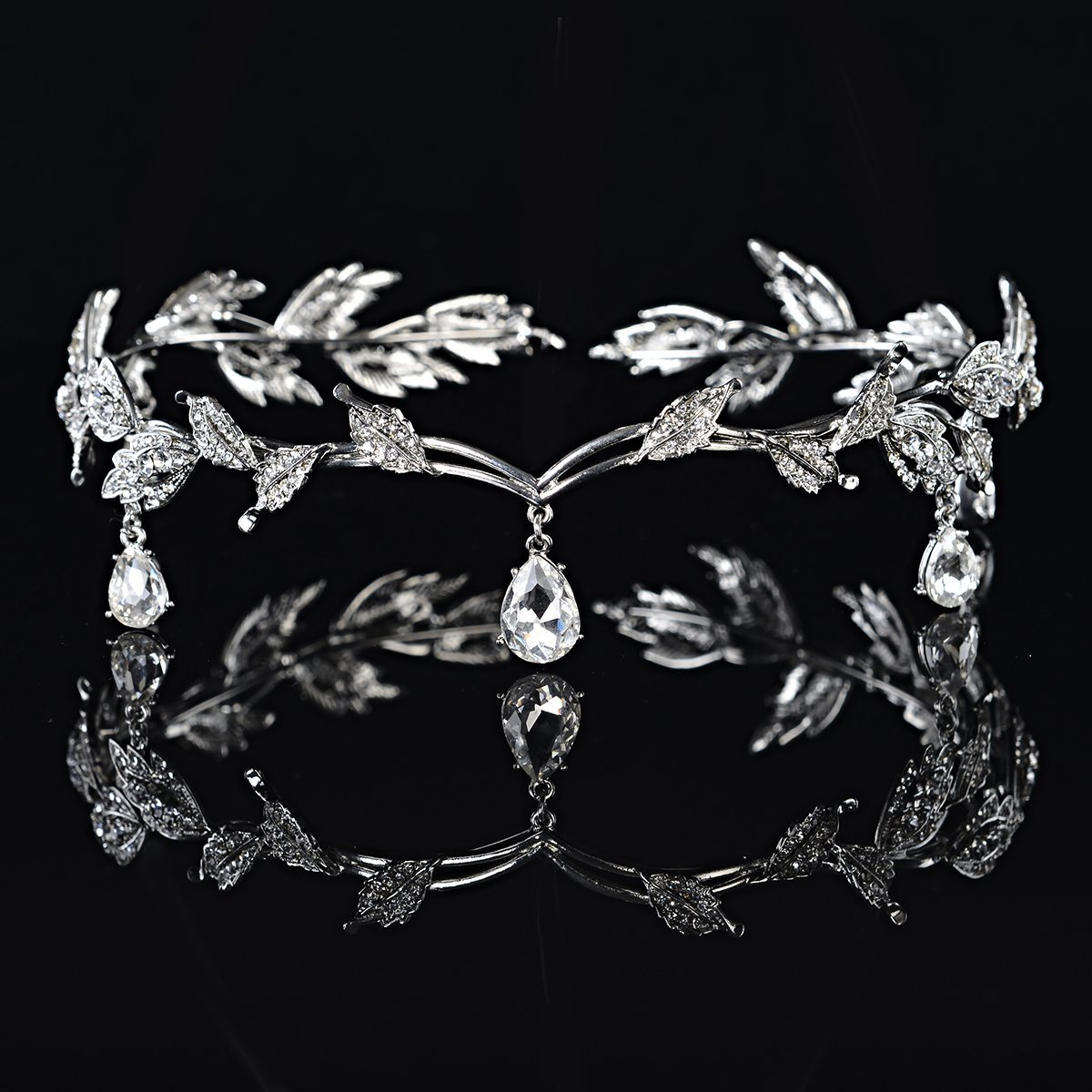 Kopfstück Crystal Perlen Stirn Band Crystal Strass Hochzeit Head ...