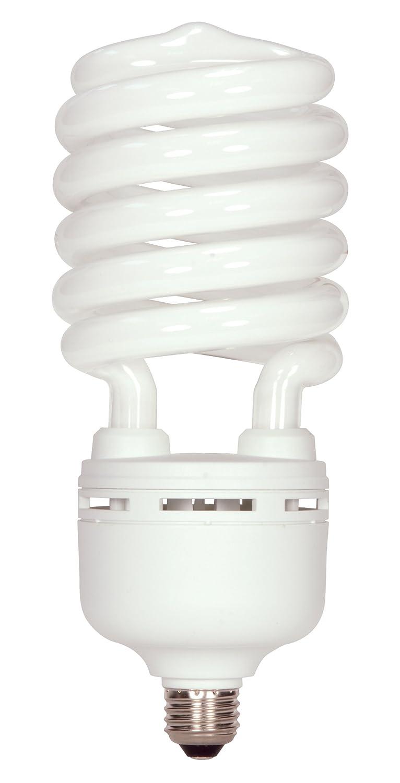 Satco S7331 32 Watt (125 Watt) 2000 Lumens Hi-Pro Spiral CFL Soft White 2700K Medium Base 120 Volt Light Bulb, Energy Star [並行輸入品] B001EFX4CG Soft White (2700) 2000ルーメン/32ワット  Soft White (2700)