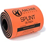 Universal First Aid Splint. Premium Quality Moldable Aluminum Splint for Injury Immobilization. Archer MedTech Brand