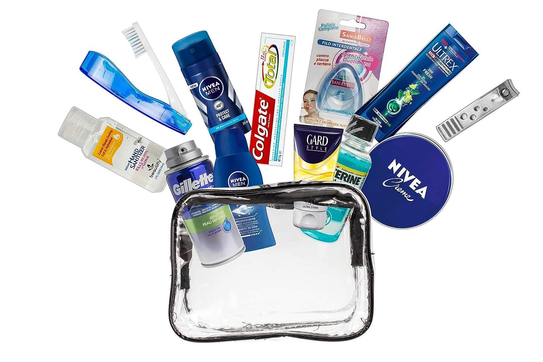 Conjunto de 13 productos de marca de cuidado personal de marca Cabina aprobada.(mujer (B) A2S