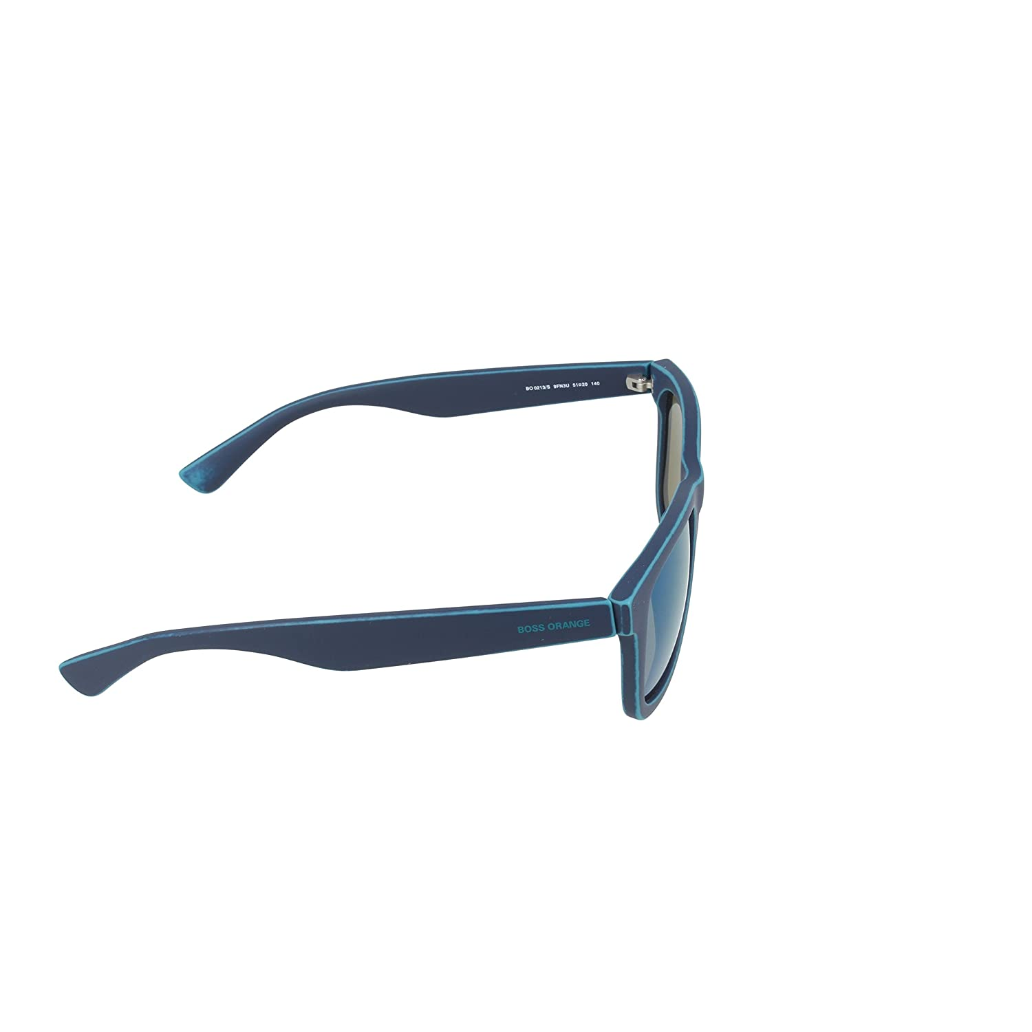 Boss Orange Herren Sonnenbrille BO 0213/S 3U 9FN, Blau (Bluette Green/Khaki Grey Speckled Blue), 51