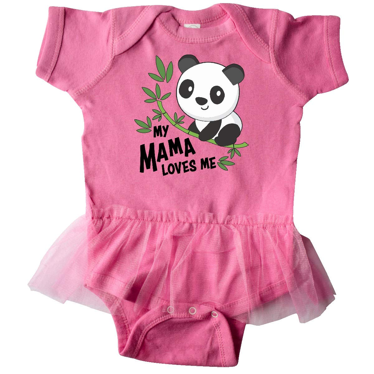 Cute Panda Baby T-Shirt inktastic My Mama Loves Me