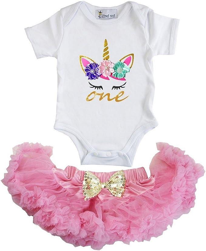 Amazon.com: Kirei Sui - Body de unicornio para bebé de un ...