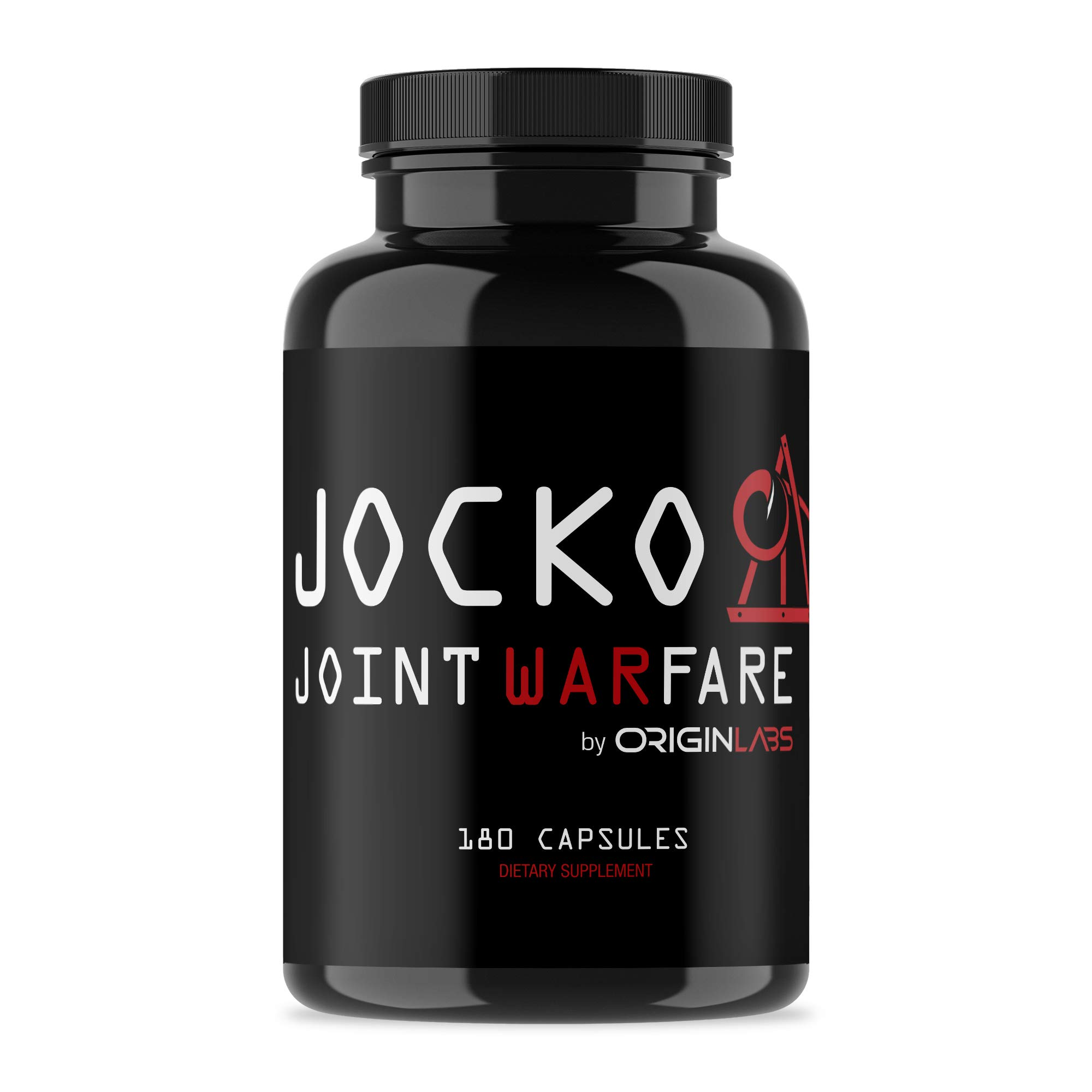 Jocko Joint Warfare by Origin Labs - Joint Support - Curcumin Supplements - Glucosamine - MSM - Boswellia - Quercetin - Joint Supplements - 400mg - 180 Tablets