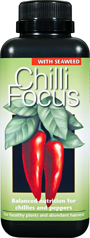 Chilli Focus Premium Liquid Concentrated Fertiliser 500ml Growth Technology Ltd GTCF500