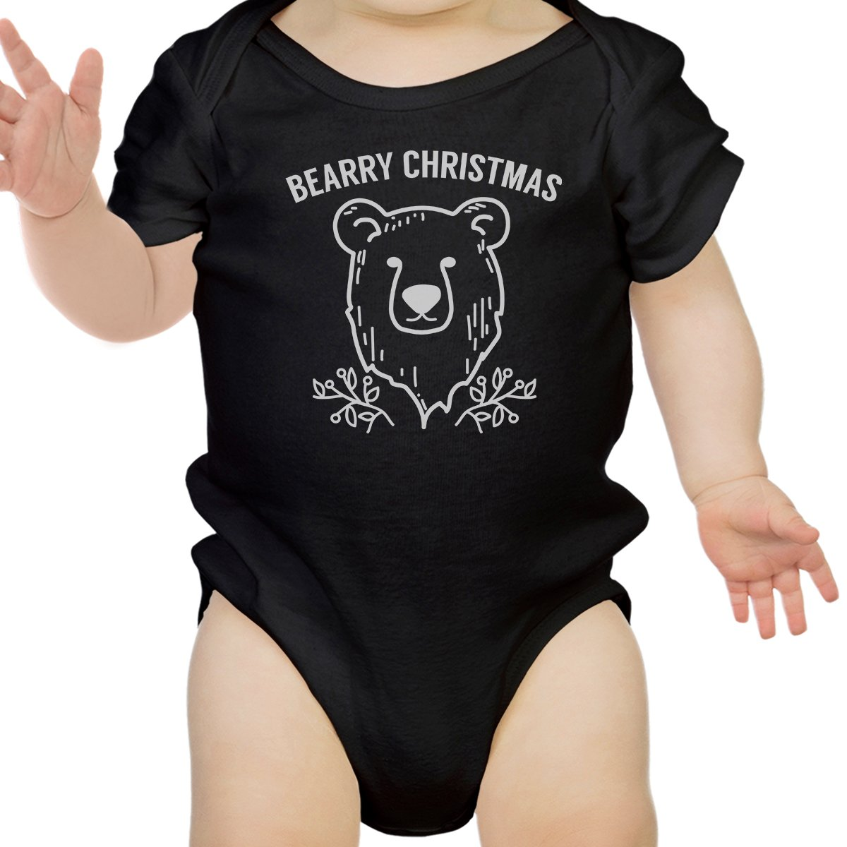 365 Printing Cute Baby Onesie Christmas Theme Baby Graphic T-Shirt for Holidays
