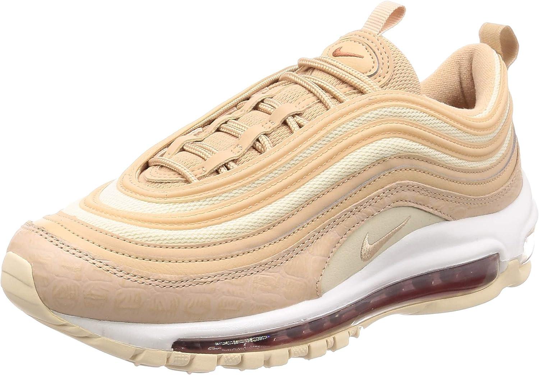 Women's running shoes NIKE AIR MAX 97 in beige NIKE010715