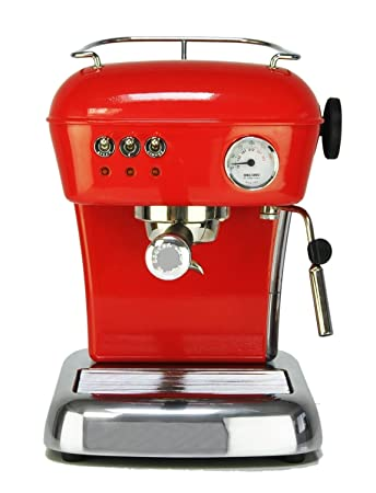 Amazonde Ascaso Dream Rot Siebträgermaschine Espressomaschine