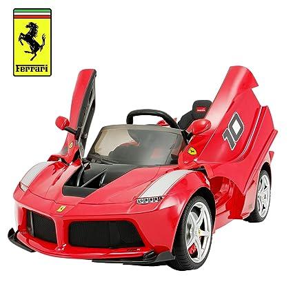 Amazon Com Uenjoy 12v Ferrari Fxx K Kids Electric Ride On Cars