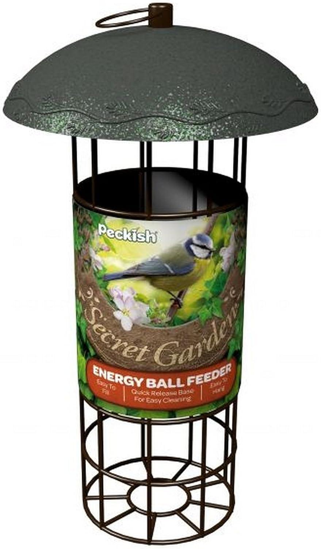 Peckish - Comedero para bolas de energía modelo Secret Garden