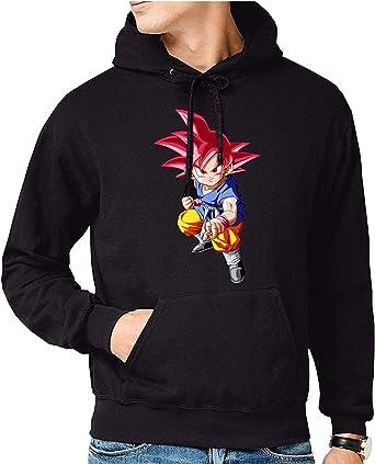 The Fan Tee Sudadera de Hombre Dragon Ball Goku Vegeta Bolas ...