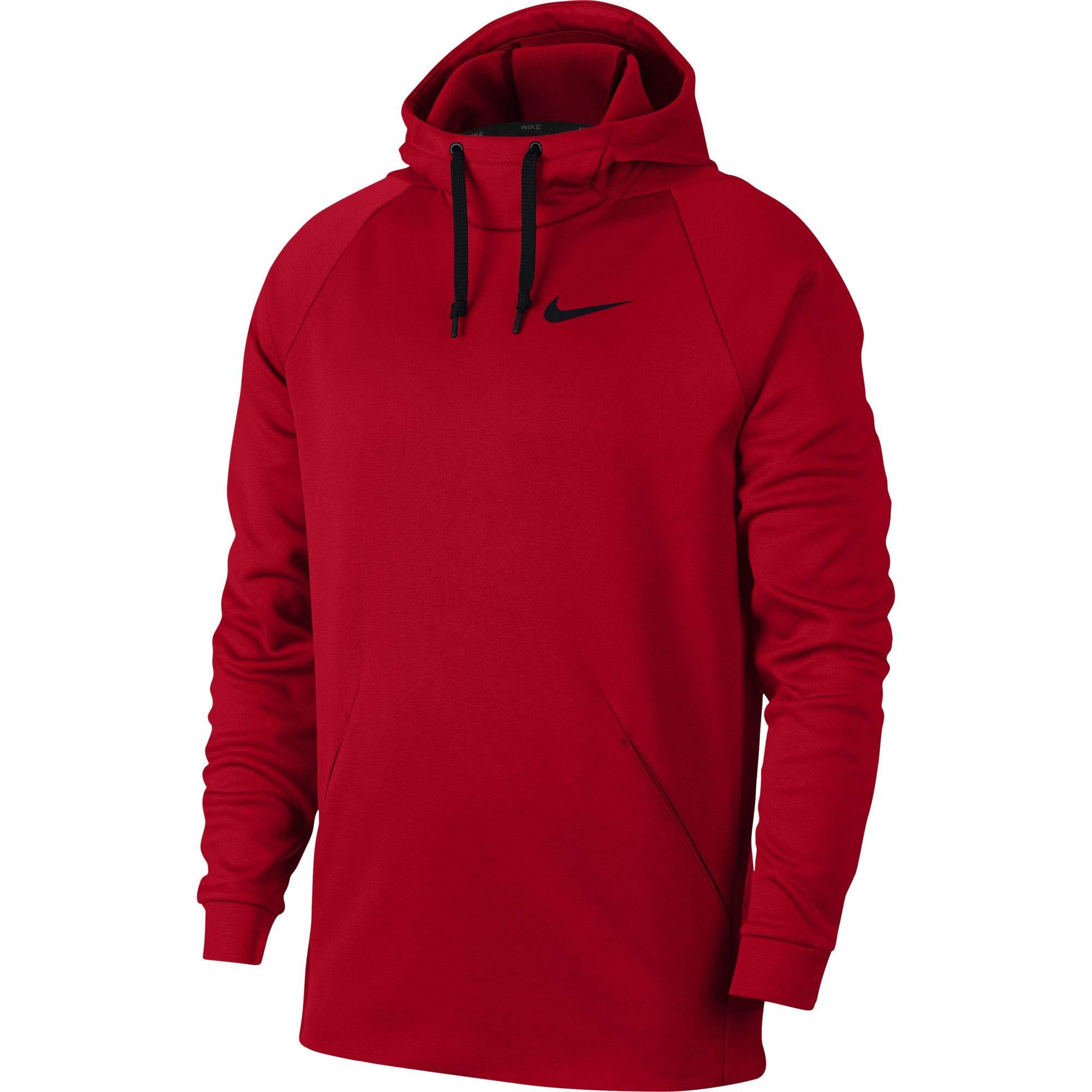 Nike Men's Therma Training Hoodie University Red/Black, Size Large
