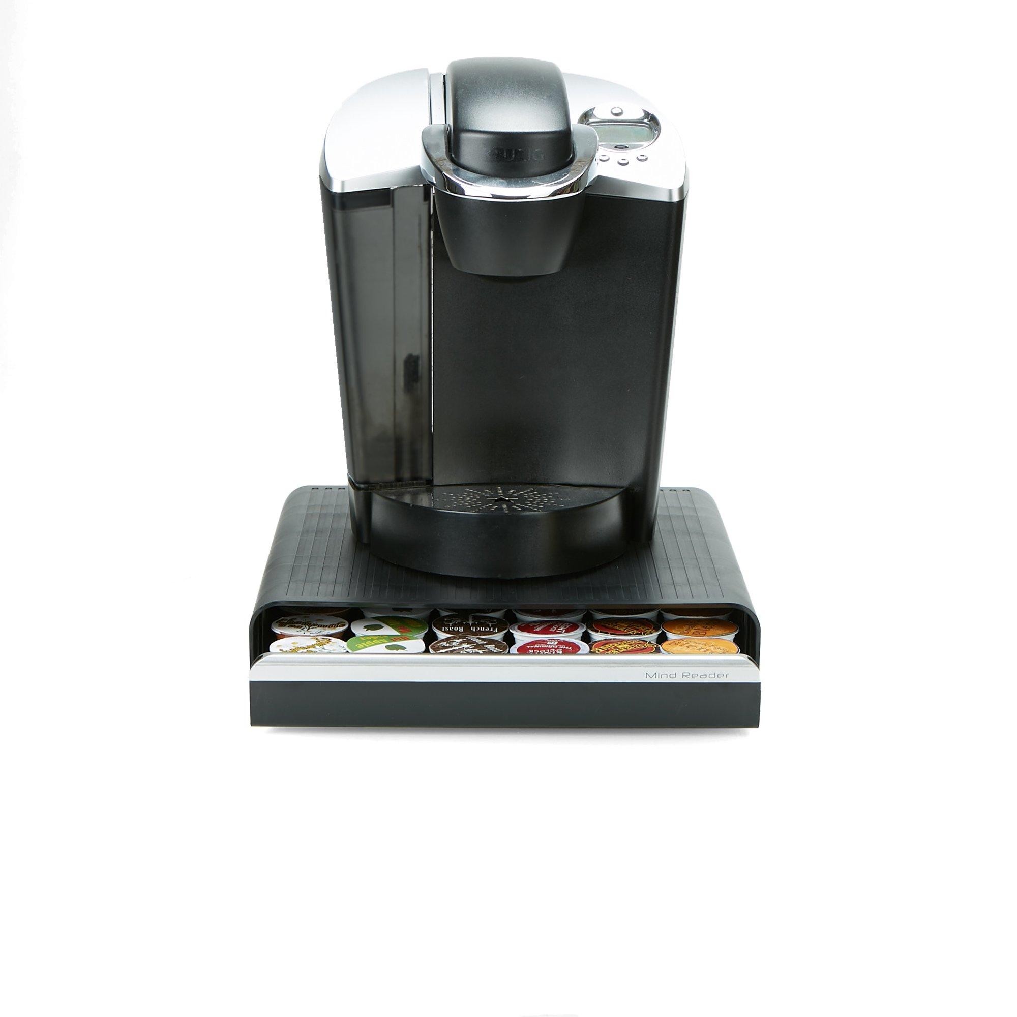 Mind Reader CAP36T-BLK Hero' Coffee Pod Drawer Storage, K-Cup Dolce Gusto CBTL Verismo, Black, One Size 2 by Mind Reader (Image #1)