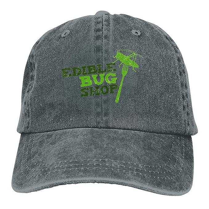 Pipaxing Gorra de béisbol Unisex Ajustable del papá del Sombrero del Dril de algodón de la Tienda Comestible del Insecto: Amazon.es: Ropa y accesorios