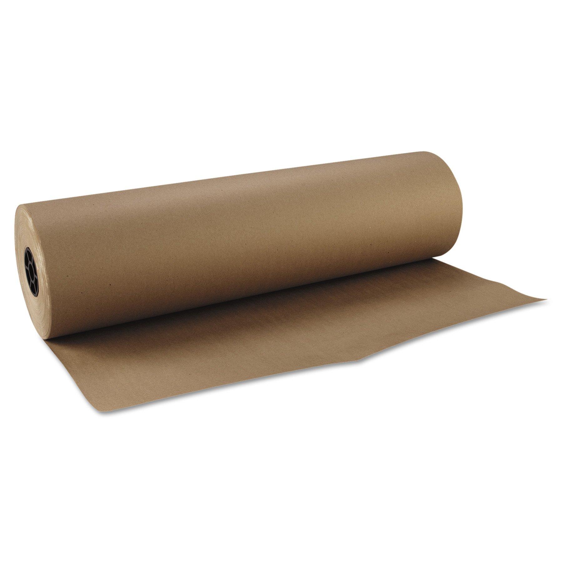 Boardwalk K3040765 Kraft Paper, 30 in x 765 ft, Brown by Boardwalk (Image #1)