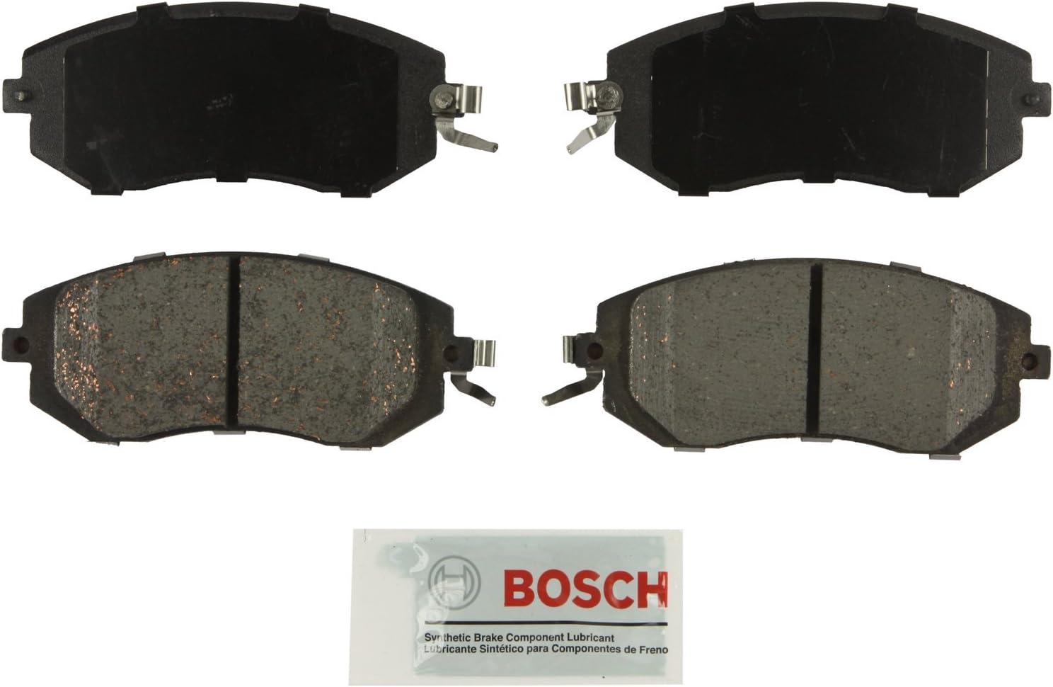 Rear Disc Brake Pad Bosch QuietCast BC1114 for Subaru Forester Impreza Legacy