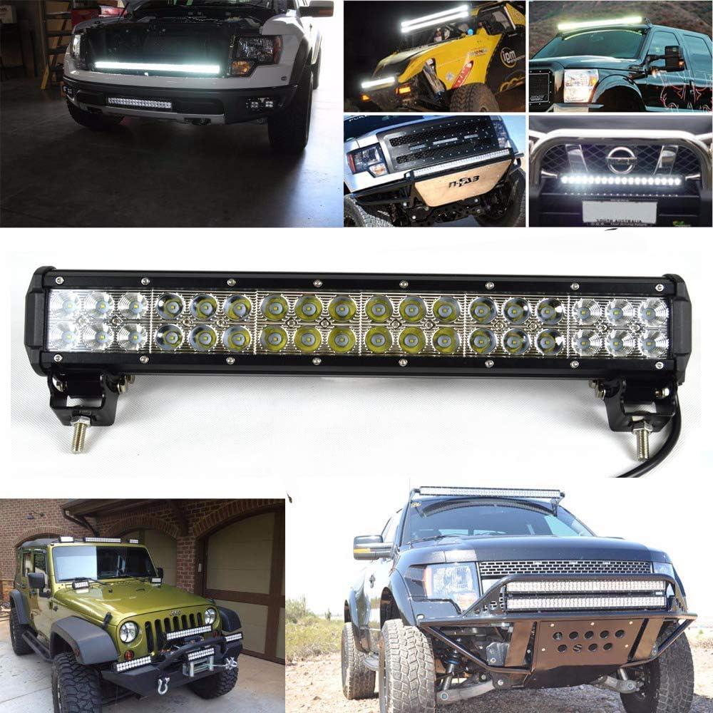 Rigidon 44 Inch 288W LED Light Bar Flood Spot Combo Beam With Wiring Harness Off Road Driving Fog Work Light for SUV Trucks 4X4 ATV UTV Car