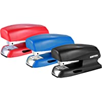 Bostitch Office 20 Sheet Stapler, Small Stapler Size, Fits into the Palm of Your Hand; Assorted - No Color Choice, One per Order (B150-Asst)