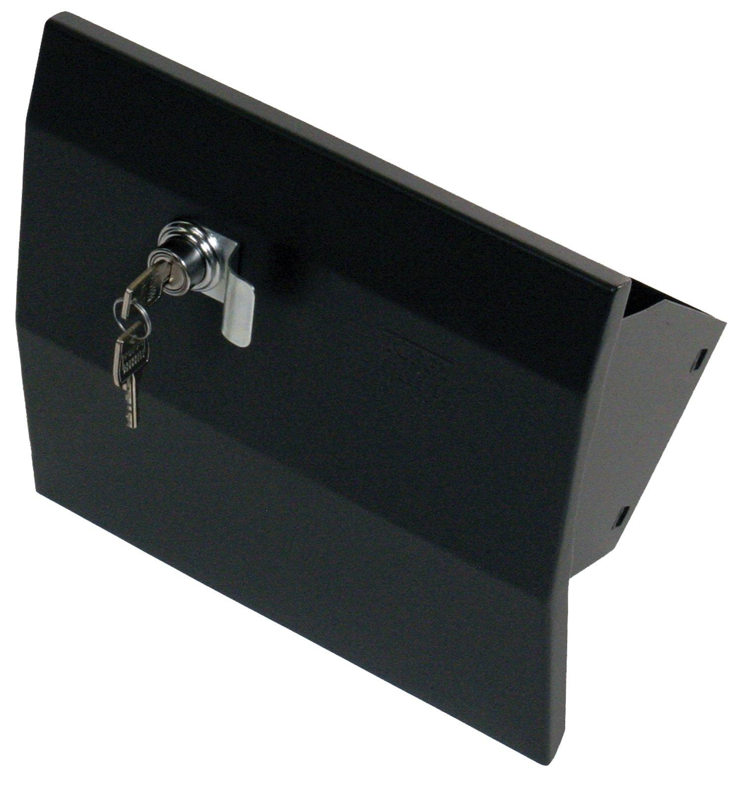 Tuffy 149-01 Glove Box-01-Black 5/8W X 8 7/16D X 11 1/8T for 2007+ Jk Wrangler