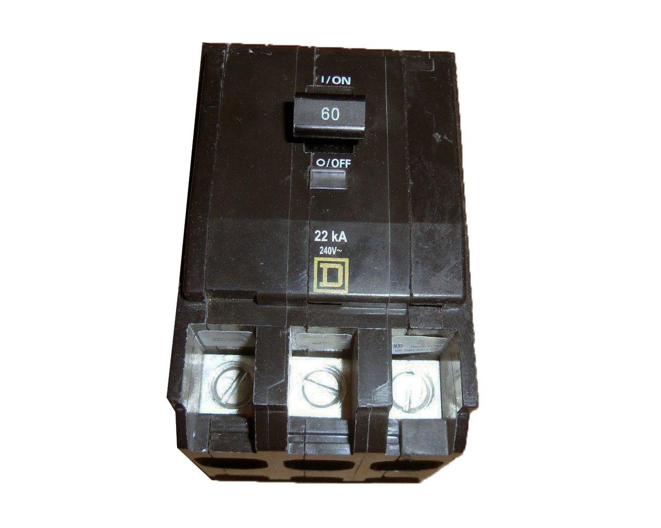 SCHNEIDER ELECTRIC Miniature Circuit Breaker 240-Volt 60-Amp QO360VH 3 in. Electric Eye Inspection Window by Schneider Electric
