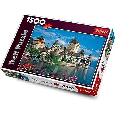 Trefl 26102 - Puzzle - Oberhofen Castle - Switzerland - 1500 Pièces