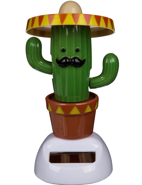 Solarfigur Wackelfigur »Kaktus« Figur beweglich Solarbetrieben 11 cm ...