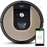 iRobot Roomba 976 WiFi connected Robot Vacuum with Power-Lifting Suction - Dual Multi- Surface Rubber Brushes - Multi room navigation - Recharges and Resumes - Ideal for Pets - Compatible with Imprint