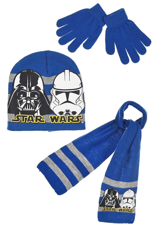 Set de bufanda, gorro y guantes para niño   Amazon.es
