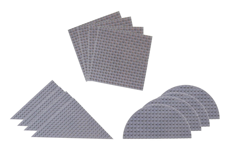 Strictly Briks Pack de bases para construir Formas triangulares semicirculares y cuadradas